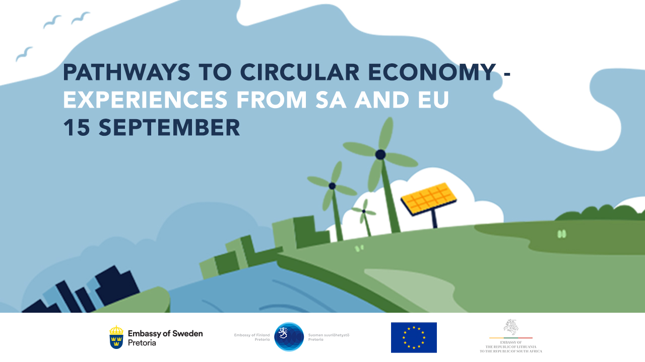 Pathways to Circular Economy - Experiences from South Africa and European Union